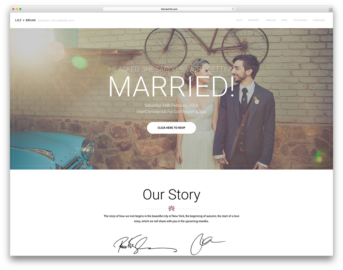 How To Create The Perfect Personal Wedding Website
