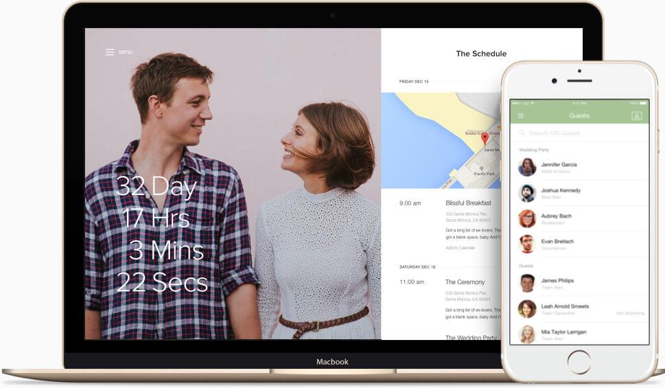 Joy Wedding Website.How To Create The Perfect Personal Wedding Website