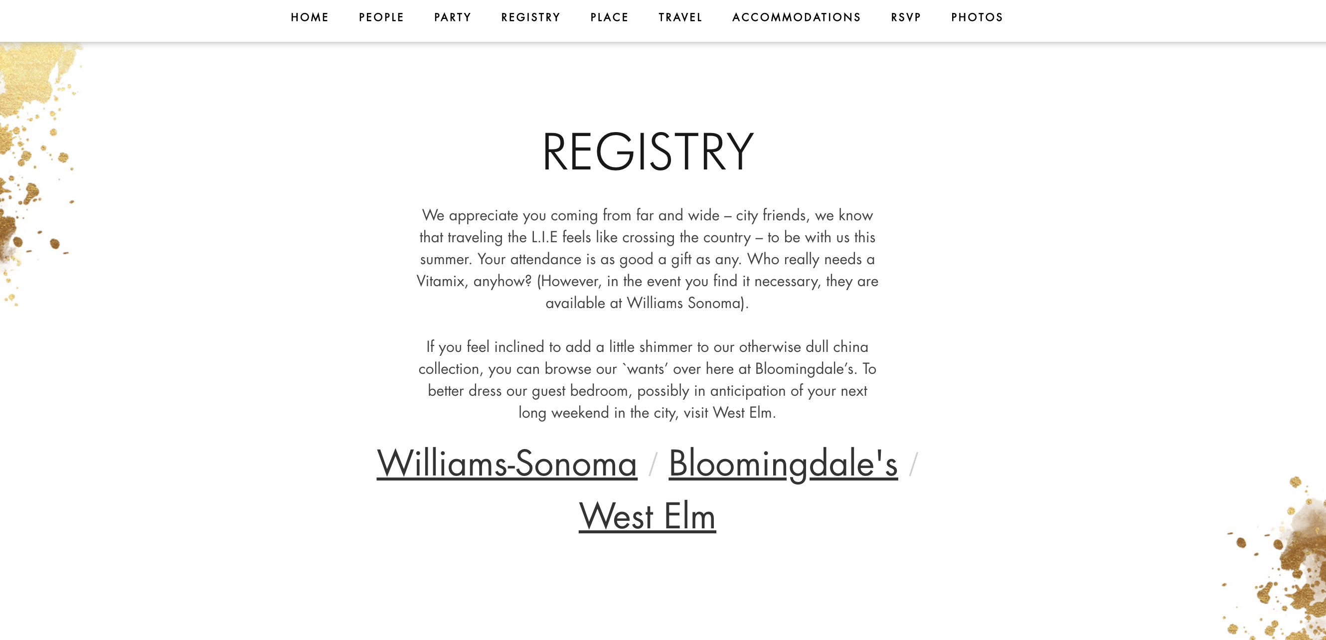 Wedding Registry Website.How To Create The Perfect Personal Wedding Website