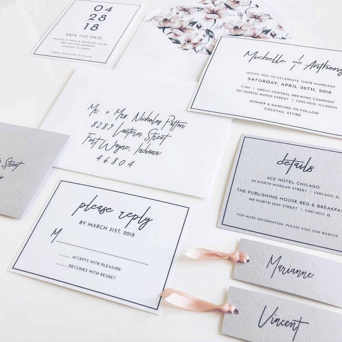 Fonts For Wedding Invites: Trending Wedding Invitation Fonts For 2018/19