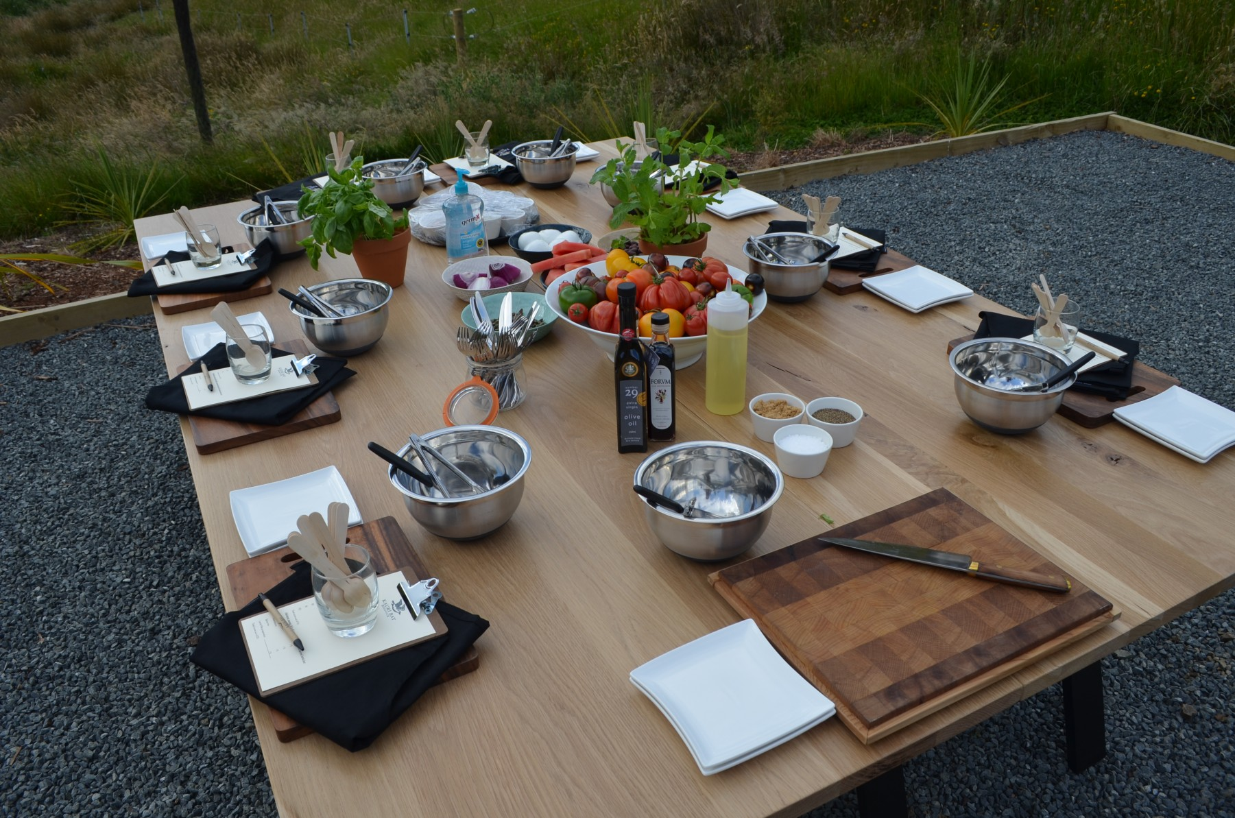 cooking class, hens night, food, masterclass, master, chef, kauri, bay, boomrock, auckland